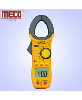 Meco 3¾ Digit 3999 Count 400A AC Auto Ranging Digital Clampmeter with NCV & Frequency Functions-72 AUTO