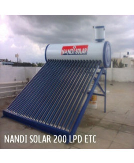 Nandi ETC Type 200 LPD Solar Water Heater (Pack of-4)