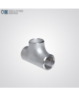 """Stainless Steel 304/304L Butt-Weld Pipe Fittings, Equal Tee, Schedule 10s(Pack of- 1)-OTFI-BW-TEE-12""""-10-304"""
