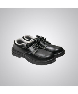 Polo PVC Moulded Black Safety Shoes Size: 8