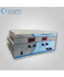 Crown 0-120 VDC 5A DC Regulated Power Supply-CES 512