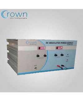 Crown 0-300 VDC 100mA DC Regulated Power Supply-CES 718A