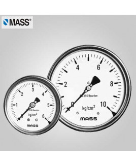Mass Industrial Pressure Gauge (without filling) 0-0.6 Kg/cm2 100mm Dia-100-WPS-S