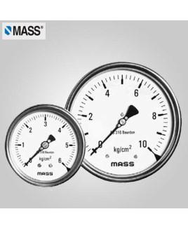 Mass Industrial Pressure Gauge 0-4 Kg/cm2 100mm Dia-100-WPS-S