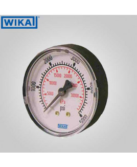 Wika Pressure Gauge (with Glycerine filling) 0-600 kg/cm2 with psi 63mm Dia-213.53.63