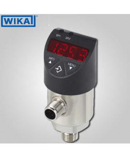 Wika Pressure Switch (-1)-0 Bar PNP 4-20mA - PSD-30