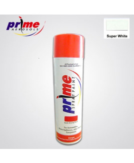Prime Aerosol Super White All Purpose Spray Paint-Pack Of 25