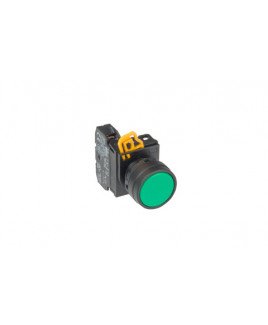 IDEC 22mm 1NO Green Push Button-YW1L-M2E10QM3G