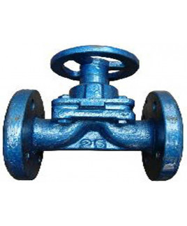 RMCO 25 mm Cast Iron Diaphragm Type Angular Valve