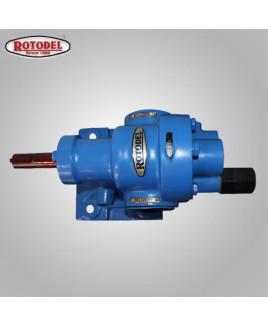 Rotodel 0.5X0.5 Inch 20 LPM 90°C Rotary Gear Pump-HGN-050