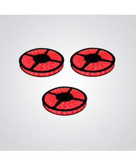 Ryna Red Colour LED Strip Light 5 Meters Each (Water Proof)-Pack of 3