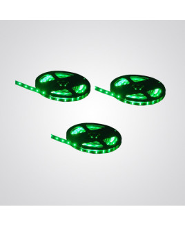 Ryna Green Colour LED Strip Light 5 Meters Each (Water Proof)-Pack of 3