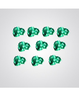 Ryna 4m Green Color Rice Light-Pack of 10
