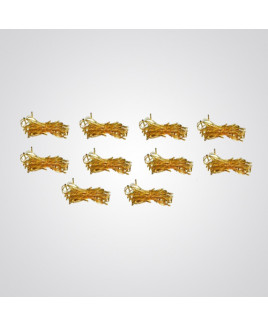 Ryna 4m Yellow Color Rice Light-Pack of 10