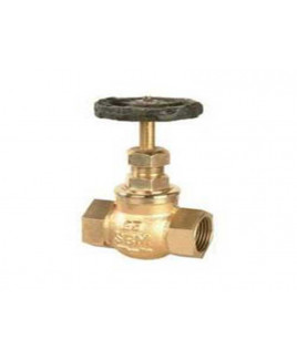 "SBM 1/2""  Bronze Globe Valve No. 4, IS-318 : 1/2"