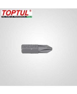 "Toptul 1/4"" PH2x25(L) mm Insert Bit-FSBA0802"