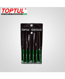 Toptul 6PCS Needle File Set-GNBA0601