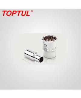 "Toptul 1/4"" Dr. x 7/32"" 12Pt Hand Socket-BBEB0807"