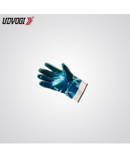 Udyogi Nitrile Butadiene Rubber Fully Dipped Gloves-NDJ K2