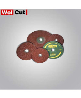 Wolcut 100 mm Grit 80 Fiber Alkon Disc