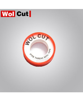 "Wolcut 1/2"" Medium Range White Teflone  Tape-Pack Of 20."