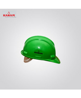 Karam Nap Type Green Safety Helmet-PN 501
