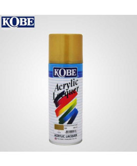 Kobe Gold Acrylic Lacquer Spray Paint-Pack Of 12