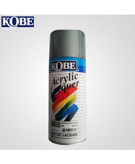Kobe Silver Acrylic Lacquer Spray Paint-Pack Of 12