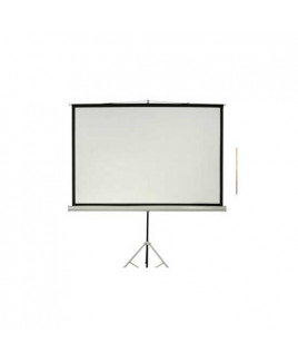 Microtec Projection Screen With Metallic Stand-125x125 cm
