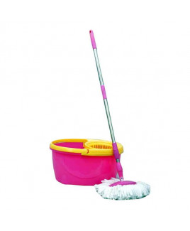 Prince Pink Spin Mop Bucket