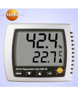 Testo Thermohygrometer With Led Alarm-608H2