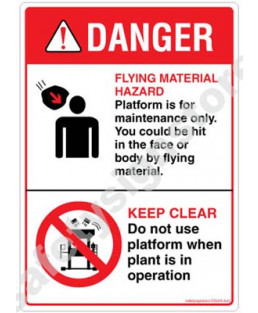3M Converter 210X297 mm Danger Sign-DS423-A4V-01