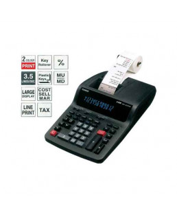 CASIO Printing Calculator-DR-120TM -BK