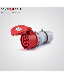 Controlwell 32A 4P Straight Plug-CP4324