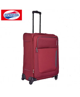 American Tourister 55 cm Beirut Red Pepper Soft Luggage Spinner-87S-001