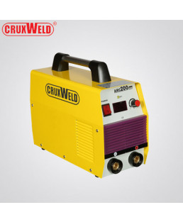 Cruxweld 6KVA Single Phase Arc Welding Machine-CMM-ARC200i