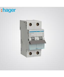 Hager 2 Pole 63A MCB-NDN163N