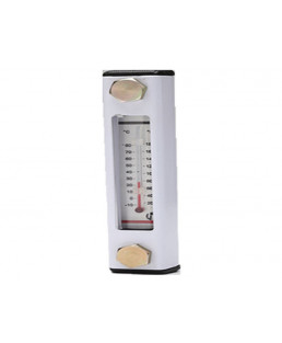 "Hydroline 3"" Level Gauge ith Thermometer-LG2-03T"
