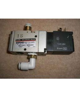 """SMC 1/4"""" Solenoid ISO Valve-EVP342-5GB-02FA-X92"""