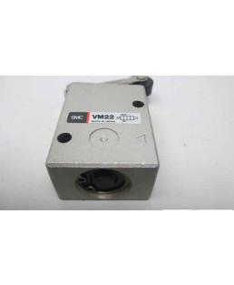 """SMC 1/4"""" Roller Lever ISO Valve-VM230-02-01"""