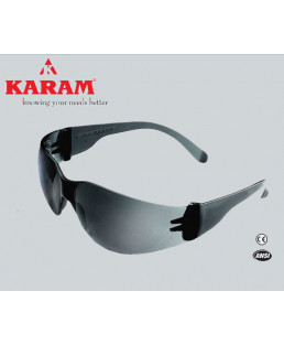 Karam Construction Workers Choice black Safety Goggle-ES 001