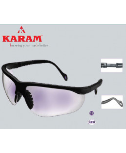 Karam Executive's Choice white Safety Goggle-ES 005