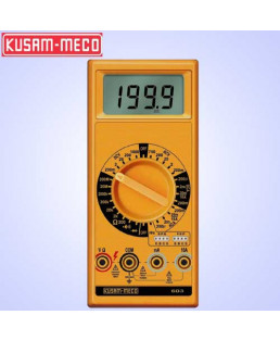 Kusam Meco 3½ Digit 1999 Counts Large LCD Display Digital Multimeter-603