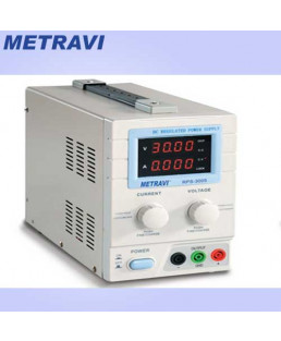 Metravi 0 ~ 30V DC Regulated Power Supply-RPS-3005