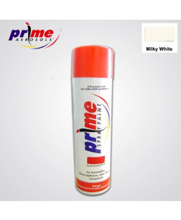Prime Aerosol Milky White All Purpose Spray Paint-Pack Of 25