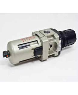 "SMC 1/4"" 800LPM Filter Regulator-AW20-02BG1"