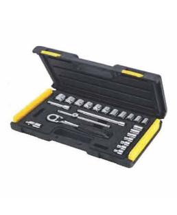 Stanley 24 Pcs 3/8 Drive Socket Set-89-035