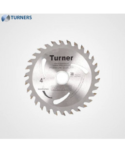 Turner Teeth Wood Cutting Blade-TCT-4''X30