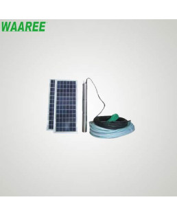 Waaree 1 HP Solar Submersible Borewell Pump-WSPD 120-19S (DC)