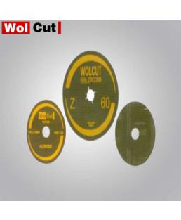 Wolcut 100 mm Grit 60 Fiber Zirconia Disc